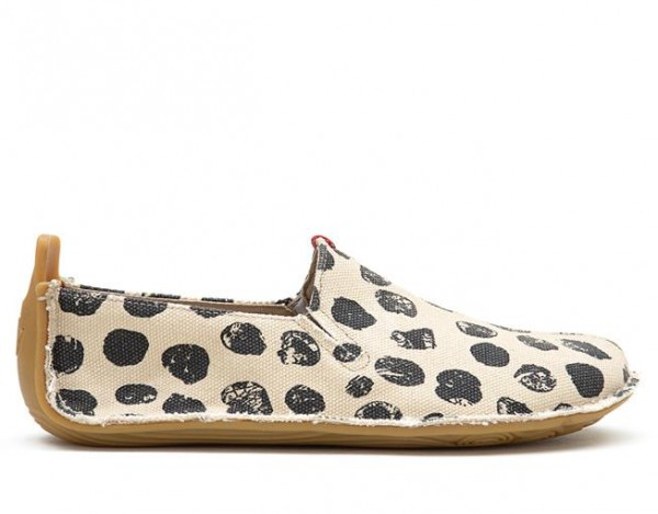 Vivobarefoot Ababa Canvas Dots Ladies
